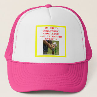 trap shooting trucker hat