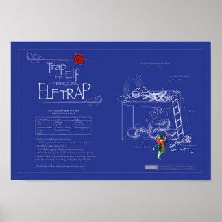 Trap the Elf™ (aka Leprechaun) - Official Elf Trap Poster
