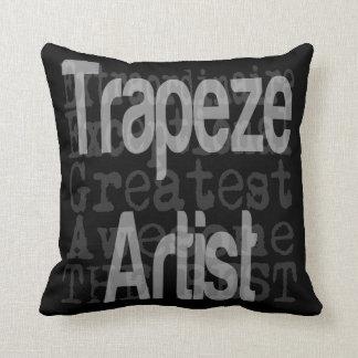 Trapeze Artist Extraordinaire Throw Pillow