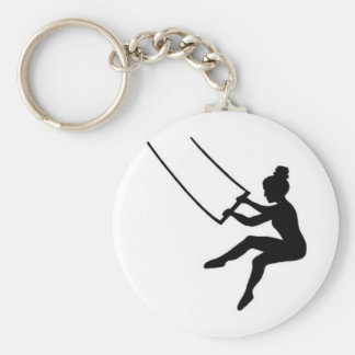 trapeze artist keychain