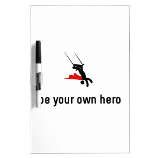 Trapeze Hero Dry-Erase Whiteboard