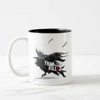 TrapKillez『Raven』 Two-Tone Coffee Mug