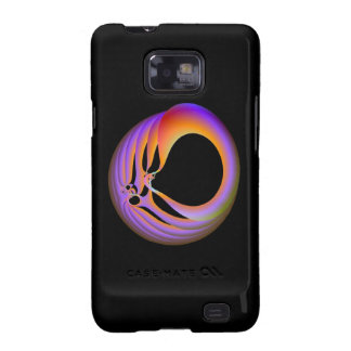 Trapped in Orange and Lilac Samsung Galaxy S Samsung Galaxy S2 Case