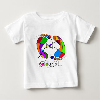 Trapsanella - be colourful baby T-Shirt