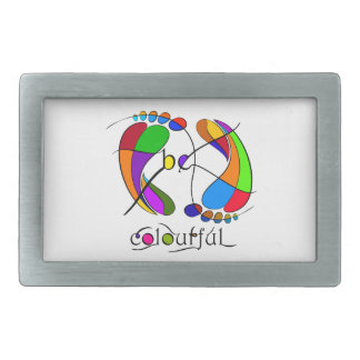 Trapsanella - be colourful belt buckle