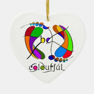 Trapsanella - be colourful ceramic ornament