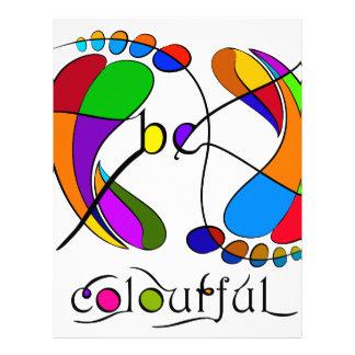 Trapsanella - be colourful letterhead