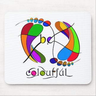 Trapsanella - be colourful mouse pad