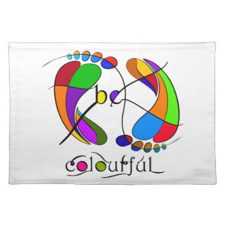 Trapsanella - be colourful placemat