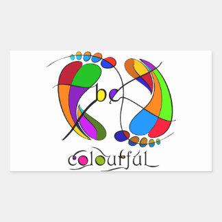 Trapsanella - be colourful sticker