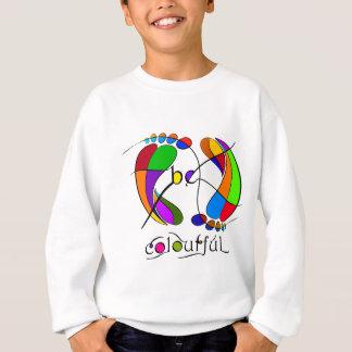 Trapsanella - be colourful sweatshirt