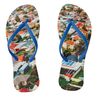 Trapse the 'burbs flip flops