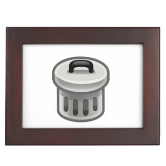 Trash Can Keepsake Box