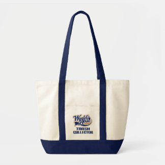 Trash Collector Gift (Worlds Best) Canvas Bag