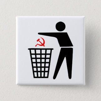 Trash Communism Button