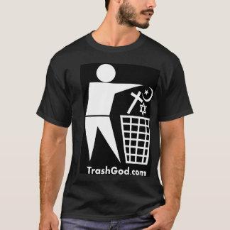 Trash God (white on black) T-Shirt