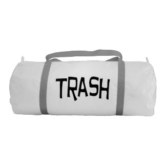 trash gym bag