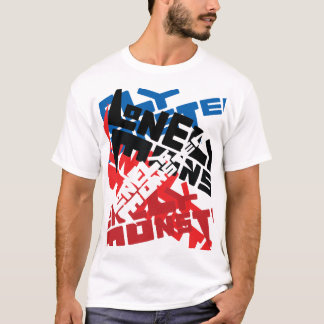 Trash Lonely Monster Logo T-Shirt
