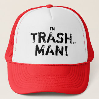Trash Man Trucker Hat