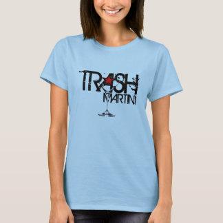 TRASH Martini Ladies Black Logo T-Shirt
