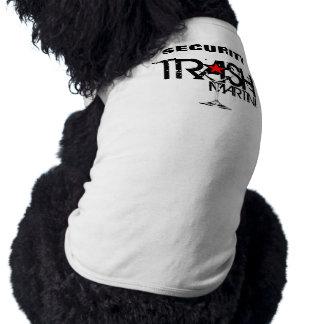 TRASH Martini Security Doggie Ribbed Tank Top
