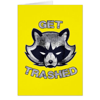 Trash Panda Party People Card