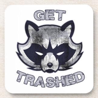Trash Panda Party People Coaster