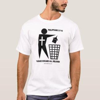 Trash Religion (light shirt) T-Shirt