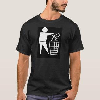 Trash_Religion_w-on-b_no-site T-Shirt