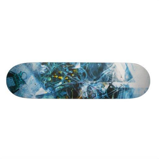 Trash T.V. lost '' the revenge'' Skate Board Deck