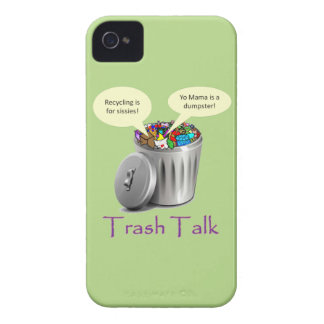 Trash Talk iPhone 4 Case-Mate Case