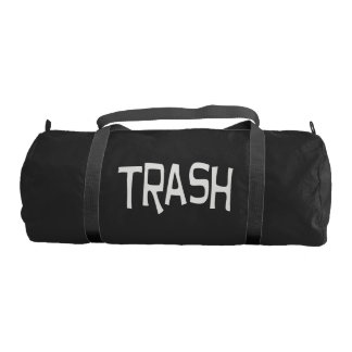 Trash (white) gym bag