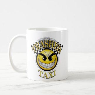Trashed Taxi Coffee Mug