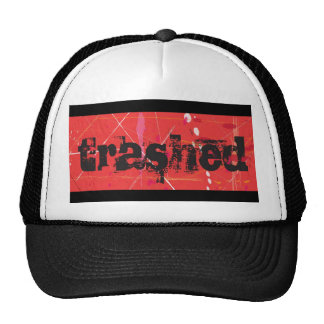 Trashed Trucker Hat