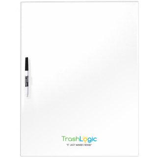 Trashlogic dry erase board