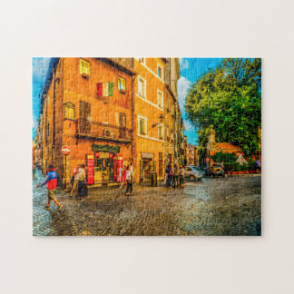 Trastevere Rome. Jigsaw Puzzle