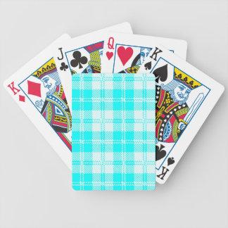 Tratan Style Pale Blue Backgrpund Poker Deck