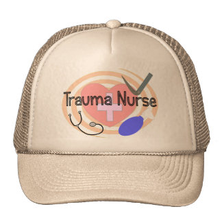 Trauma Nurse Gifts Trucker Hat