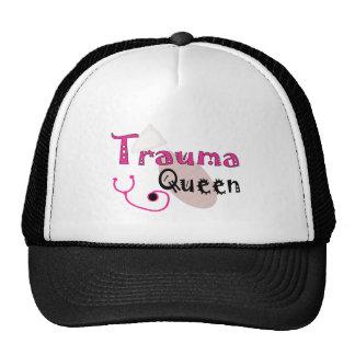 "Trauma Nurse  ""Trauma Queen"" Gifts Trucker Hat"