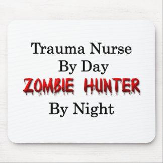 Trauma Nurse/Zombie Hunter Mouse Pad