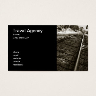 Traval Agency Business Card