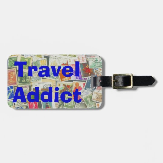 Travel Addict - luggage tag
