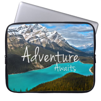 Travel Adventure Awaits Photography Computer Sleeve