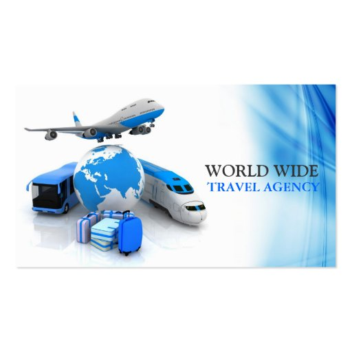 Travel Agency Agent Business Card