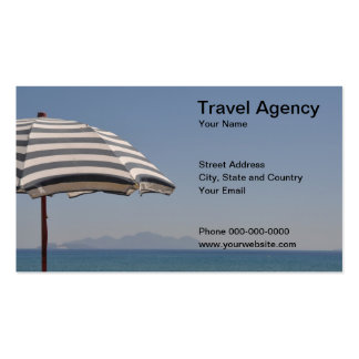 Travel Agency Business Card Business Card Template