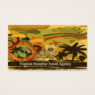 Travel Agency Business Card