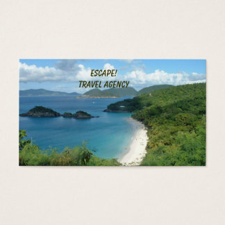 Travel Agency Business Card! Business Card