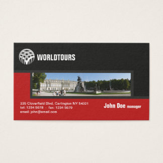 Travel Agency Professional Business Card