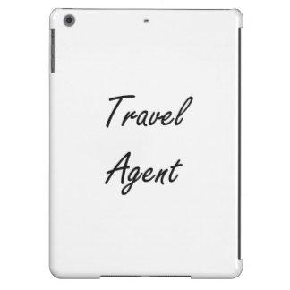 Travel Agent Artistic Job Design iPad Air Cover