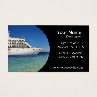 Travel Agent Business Card,100 pack, White Business Card